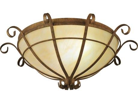 Meyda Tiffany Florentine Two-Light Flush Mount Light MY129315