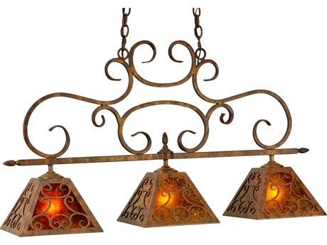 Meyda Tiffany Bandolei Three-Light Island Light MY127374