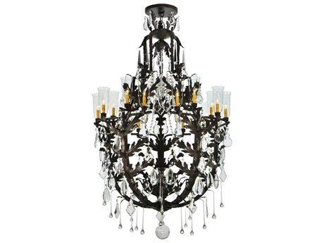 Meyda Tiffany French Baroque 16-Light 44 Wide Grand Chandelier