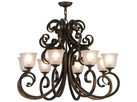Meyda Tiffany Belvedere Eight-Light 36 Wide Grand Chandelier MY120273