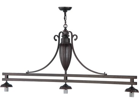 Meyda Tiffany Custom Three Light Island Light Hardware