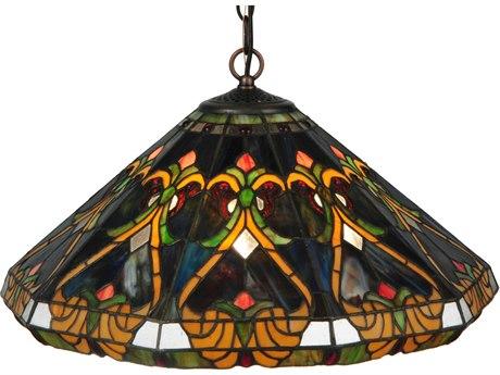 Meyda Tiffany Middleton Three-Light Pendant