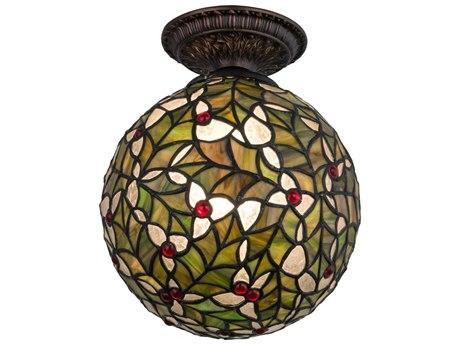 Meyda Tiffany Holly Ball Semi-Flush Mount Light MY81754