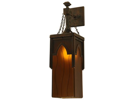 Hubbardton Forge Henry 14 Wide Outdoor Wall Light