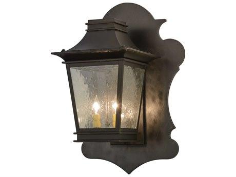Meyda Tiffany Fanucchi Two-Light Lantern Outdoor Wall Light MY137505