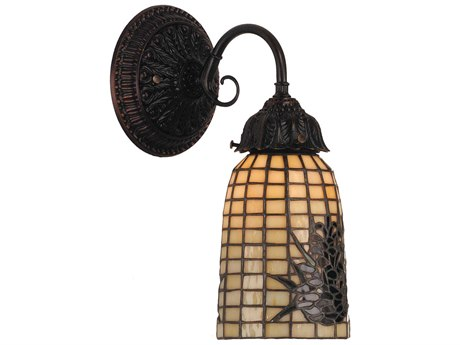 Meyda Tiffany Pine Barons Wall Sconce MY74047