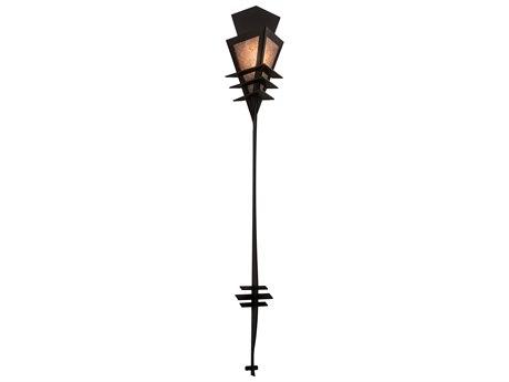 Meyda Zaira Black / Silver Mica 1-light Vanity Light MY213385