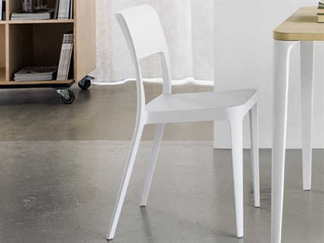 Midj Nene White Dining Side Chair MIDMDNENEW