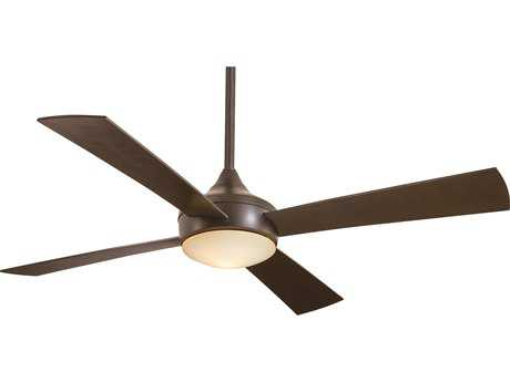 Minka-Aire Aluma Wet Oil Rubbed Bronze 52'' Wide Outdoor Ceiling Fan