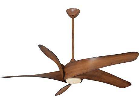 Minka-Aire Artemis XL5 Distressed Koa 62'' Wide Indoor LED Ceiling Fan MKAF905LDK
