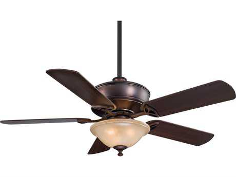 Minka-Aire Bolo Dark Brushed Bronze Three-Light 52'' Wide Indoor Ceiling Fan MKAF620DBB