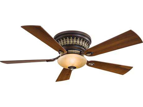 Minka-Aire Calais Belcaro Walnut Two-Light 52'' Wide Indoor Ceiling Fan MKAF544BCW