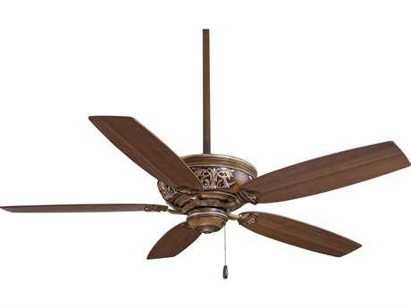 Minka-Aire Classica Belcaro Walnut 54'' Wide Indoor Ceiling Fan MKAF659BCW