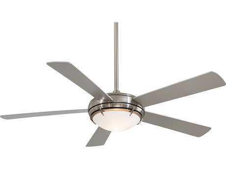 Minka Aire Vintage Gyro Brushed Nickel Amp Chrome 42 Wide Indoor Ceiling Fan Mkaf802bnch
