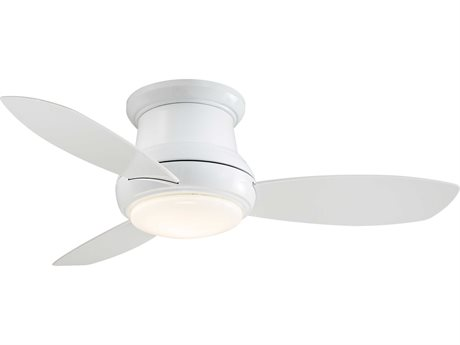 Minka-Aire Concept II White 44'' Wide LED Indoor Ceiling Fan MKAF518LWH