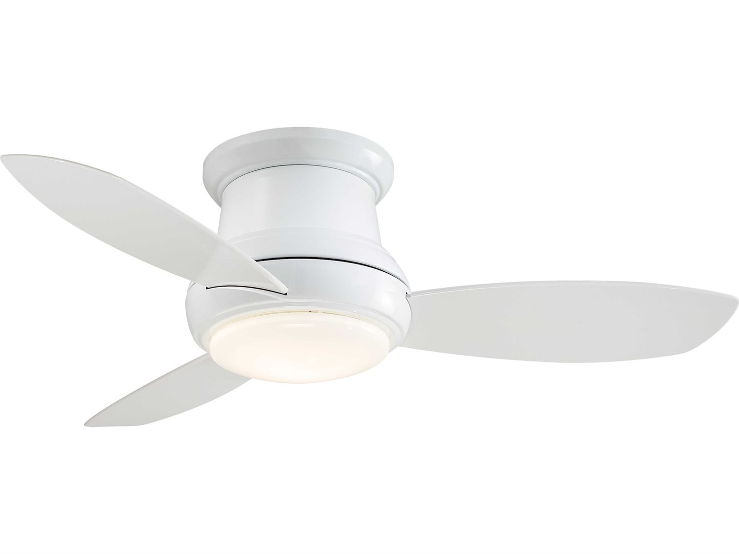 Minka Aire Concept Ii White 44 Wide Led Indoor Ceiling