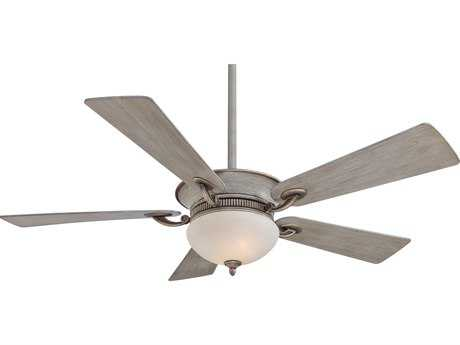 Minka-Aire Delano Driftwood Two-Light 52'' Wide Indoor Ceiling Fan MKAF701DRF