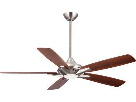 Minka-Aire Dyno Brushed Nickel 52'' Wide LED Indoor Ceiling Fan