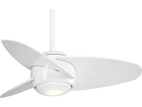 Minka-Aire White 36'' Wide LED Indoor Ceiling Fan