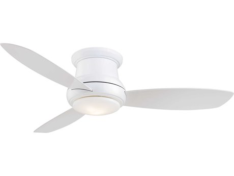 Minka-Aire White 52'' Wide LED Indoor Ceiling Fan