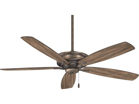 Minka-Aire Heirloom Bronze 52'' Wide Indoor Ceiling Fan with Aged Boardwalk Blades