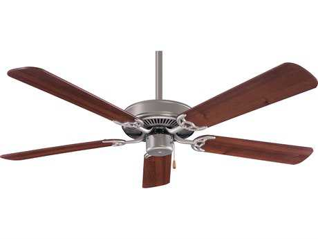 Minka-Aire Contractor Brushed Steel 52'' Wide Indoor Ceiling Fan MKAF547BSDW