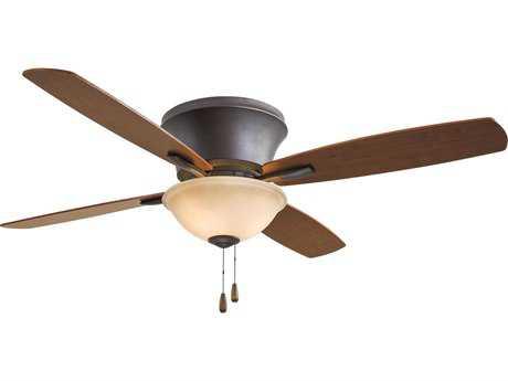 Minka-Aire Mojo II Oil Rubbed Bronze Three-Light 52'' Wide Indoor Ceiling Fan