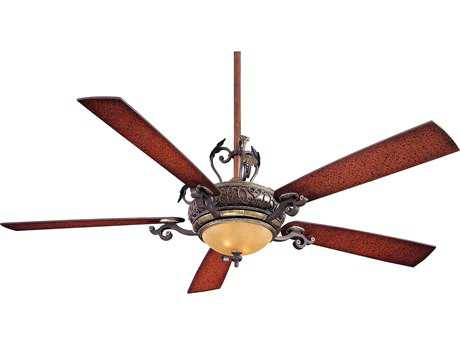 Minka-Aire Napoli II Sterling Walnut Two-Light 68'' Wide Indoor Ceiling Fan MKAF715STW