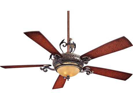 Minka-Aire Napoli Sterling Walnut Two-Light 56'' Wide Indoor Ceiling Fan MKAF705STW