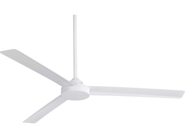 Minka Aire Roto Flat White 62 Wide Outdoor Ceiling Fan