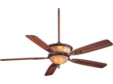 Minka-Aire Santa Lucia Cattera Bronze Two-Light 60'' Wide Indoor Ceiling Fan