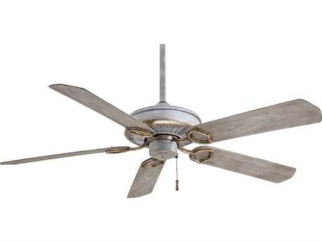 Minka-Aire Sundowner Driftwood 54'' Wide Indoor & Outdoor Ceiling Fan MKAF589DRF