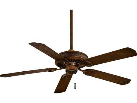 Minka-Aire Sundowner Mossoro Walnut 54'' Wide Indoor & Outdoor Ceiling Fan MKAF589MW