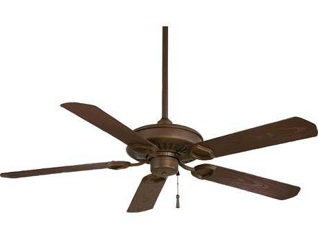 Minka-Aire Sundowner Oil Rubbed Bronze 54'' Wide Indoor & Outdoor Ceiling Fan