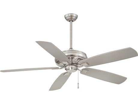 Minka-Aire Sunseeker Brushed Nickel 60'' Wide Outdoor Ceiling Fan