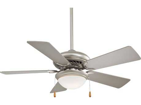 Minka-Aire Supra Brushed Steel 44'' Wide Indoor Ceiling Fan MKAF563SP