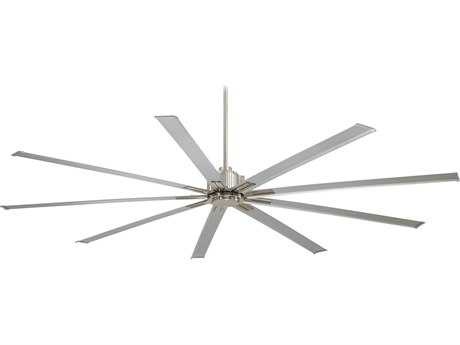 Minka-Aire Xtreme Brushed Nickel 96'' Wide Indoor Ceiling Fan MKAF88796BN