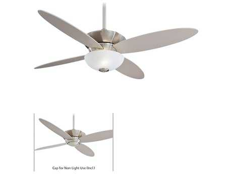 Minka-Aire Zen Brushed Nickel Two-Light 52'' Wide Indoor Ceiling Fan