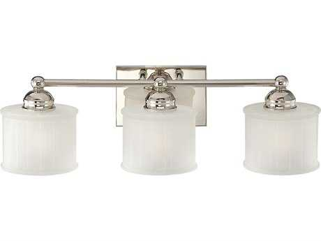 Minka Lavery 1730 Series Polished Nickel Glass Vanity Light MGO67331613
