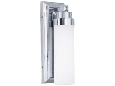 Minka Lavery Accent Chrome Glass LED Wall Sconce