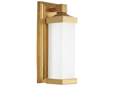 Minka Lavery Accent Liberty Gold Glass LED Wall Sconce