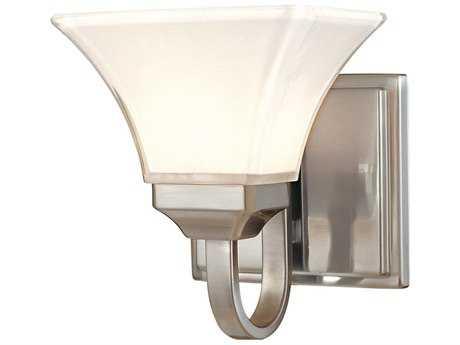 Minka Lavery Agilis Brushed Nickel Glass Vanity Light