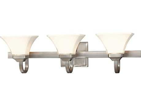 Minka Lavery Agilis Brushed Nickel Glass Vanity Light MGO681384
