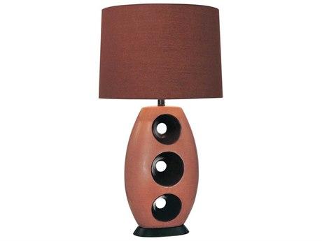 Minka Lavery Ambience Black Mahagony Buffet Lamp