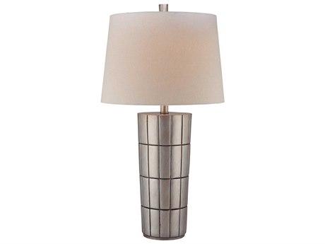 Minka Lavery Ambience Charleston Silver White Buffet Lamp MGO180111