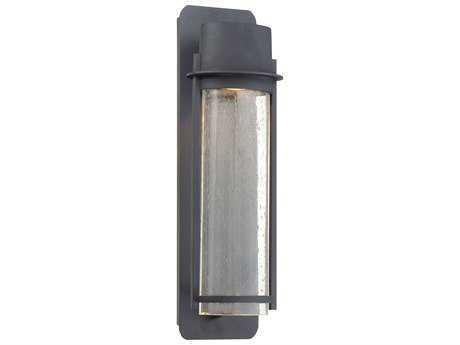 Minka Lavery Artisan Lane Black Glass Outdoor Wall Light