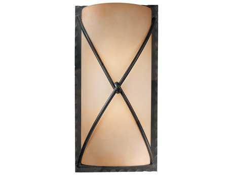 Minka Lavery Aspen Ii Bronze Glass Wall Sconce MGO19751138