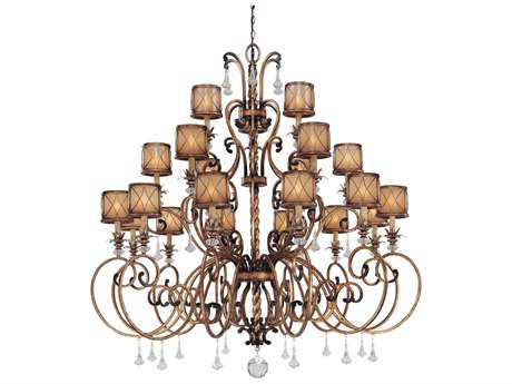Minka Lavery Aston Court Bronze 59'' Wide Large Chandelier MGO4759206