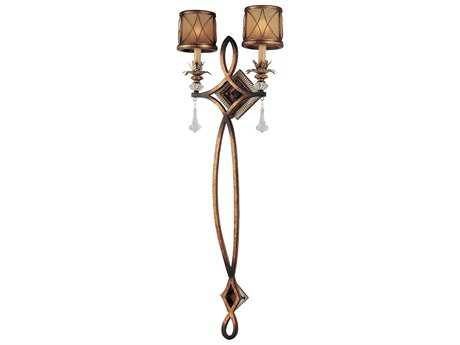Minka Lavery Aston Court Bronze Glass Wall Sconce MGO4742206