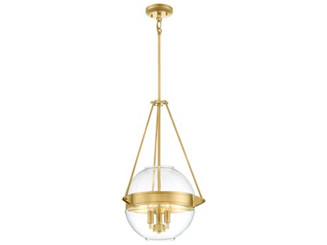 Minka Lavery Atrio Liberty Gold 15'' Wide Glass Pendant MGO2291249